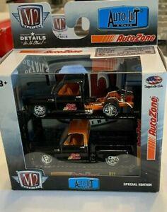 M2 AUTOZONE AUTO LIFT SILVERADO R11 2 car set