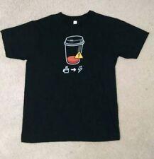 COFFEE Geek / Nerd / Coder Shirt * Caffeine Critically Low *American Apparel