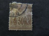1876/77 - FRANCE - PEACE AND COMMERCE - SCOTT 82 A15 30C