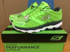 NEW Rare 2014 Skechers Go Run Ultra NITE OWL Mens Running Shoe Size 10 Green E13