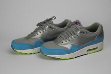 Nike Air Max 1 metallic silver/current blue US 9 UK 8 42,5 Rare Top