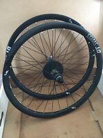 DT Swiss XMC 1200 Boost Carbon 27.5 Wheelset 15x110/12x148 Used w/ New Rear Rim