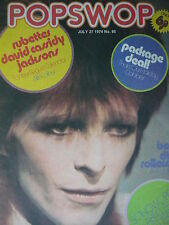 POPSWOP MAGAZINE 27TH JULY 1974 - DAVID BOWIE - BAY CITY ROLLERS - THE SWEET