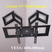TV Wall Bracket Heavy Duty Double Arms for 32 37 40 42 46 50 55 60 65 LCD LED UK