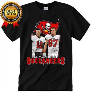 Tom Brady Rob Gronkowski Tampa Bay Buccaneers AFC 2021 T-Shirt NFL Football Gift