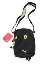 Puma Scuderia Ferrari Crossbody Bag Black Shoulder Pack 076679 02