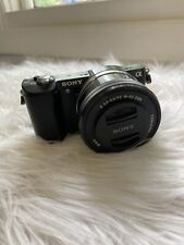 Sony A5000 20.1MP Mirrorless Digital Camera with 16-50 mm lens, black body case