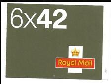 Na1 6 x 42p Self Adhesive Booklet Cyl Num Ref 16129