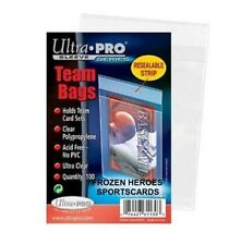 ULTRA PRO TEAM SET BAGS (100 PER PKG) **NO ADDED SALES TAX SURPRISES*