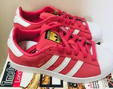 Superstar woman Originals Trainers Classic Sneakers Shoes Pink size 3