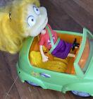 Nickelodeon Rugrats Angelica In Remote Volkswagen beetle. Realistic Sounds