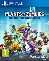 PLANTS VS ZOMBIES: BATTLE FOR NEIGHBORVILLE - PS4 PLAYSTATION 4 - NEW & SEALED