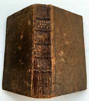 1716 COMMENTAIRES SUR DEUX DERNIERS LIVRES DES ROIS FRANCAIS LATIN LIVRE EGLISE