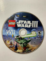Lego Star Wars 3 The Clone Wars (Nintendo Wii)-Disc only-Tested-FAST SHIPPING