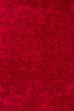 Tapis rouge pour la maison, 150 cm x 150 cm