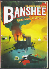 BANSHEE: SEASON 2 DVD (4 DISC SET) HBO TV SERIES + BONUS FEATURES USED ONCE,