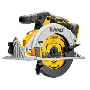 "DeWALT DCS565B 20V MAX 6-1/2"" Brushless Cordless Li-Ion Circular Saw - Bare Tool"