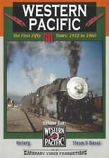 Western Pacific The First 50 Years 1910 to 1960 Volume 1 Catenary Video DVD