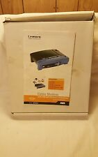 Linksys  Ethernet Cable Modem BEFCMU10 Ver 4