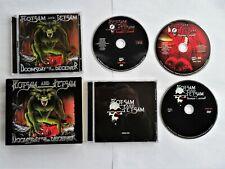 FLOTSAM AND JETSAM Rare Box CD Doomsday+ DVD Live (Iron Maiden Megadeth Slayer)