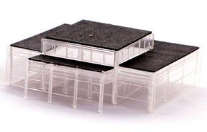 Kestrel N Gauge Railway/Buildings/ Layout Plastic Kit No:GMKD29 Modern Station.