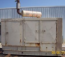 100kW KATOLIGHT Diesel, Low Hours, Standby Generator with DETROIT engine!