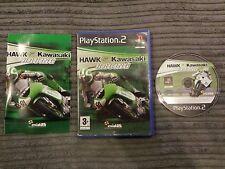 Hawk Kawasaki Racing Sony PlayStation 2,2006 COMPLETE WITH MANUAL SUPERBIKES PS2