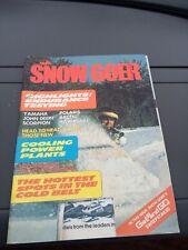 Nov 1977 SNOW GOER snowmobile magazine Ski Doo COVER Yamaha Arctic Cat Polaris
