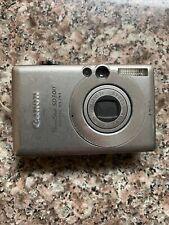 Canon PowerShot ELPH SD300 IXUS 40 4.0MP Digital Camera,Untested for repair
