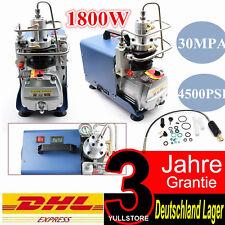 High Pressure 4500psi pcp Electric air compressor for paintball air rifles300bar