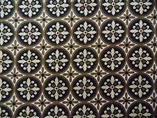 WtW Fabric MBT Medallion Pattern Mod Retro Geometric Circles Art Deco Quilt