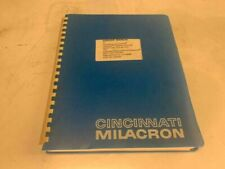 Cincinnati Service Manual 1208 1210 1212 w/ Acramatic 850Tc, 3-Tc-84348, 3359034