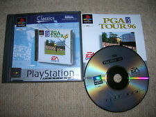 PGA TOUR 96 - Rare Sony Playstation PS1 / PS2 Game