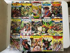 DC Comics icon 1 2 3 4 5 6 7 8 9 10 11 12 13 14-22 (out of 42)  vf/vf+ bagged