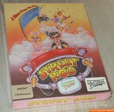 ~ STREET ROD ~ Commodore Amiga / Originalkarton ~ BIG boxed ~ NEU ~ NEW ~ SEALED
