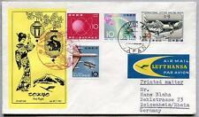 FFC 1961 Lufthansa PRIMO VOLO LH 647 - Tokyo Francoforte