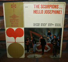 THE SCORPIONS HELLO JOSEPHINE! LP VERY RARE GARAGE ROCK FIRST PRESSING GA 5000