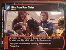 Star Wars TCG ESB Kiss From Your Sister