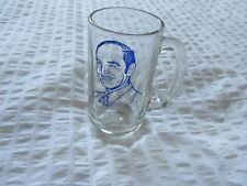 VINTAGE Progressive Conservative PC STEIN MUG GLASS POLITICAL RENE BRUNELLE