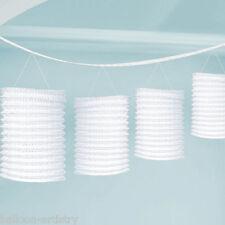 3,65 m Bianco Matrimonio Festa di Compleanno Carta Lanterna Ghirlanda Decorazione