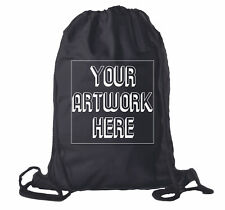 Wholesale Custom Drawstring Backpacks, Personalized Promotional Cotton Bags