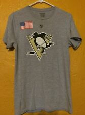PITTSBURGH PENGUINS T SHIRT RARE BROOKS ORPIK TEAM USA OLYMPICS REEBOK SMALL