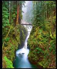 Fine Art Photography: Rodney Lough Jr. Sol Duc Falls 90/500 20X24 Matted/Framed