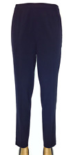 Liz Claiborne Pencil Leg Pants SIZE: 8R BLUE/IconicDesignerFashions.com