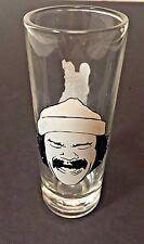 Cheech & Chong Up In Smoke Tall Tequila Shot Glass Promotional Logo Marin