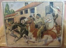 Original Lone Ranger Trading Card #3 Tonto s Race with Death