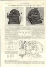 1915 Retreat Cutting Off Machine Charles Taylor Birmingham