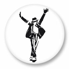 Magnet Aimant Frigo Ø38mm Music Musique Michael Jackson King of Pop MJ Bad