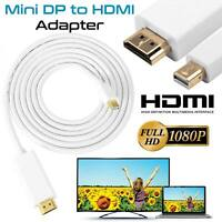 Thunderbolt To HDMI Adapter Cable Mini Display port For MacBook Pro Air, Surface