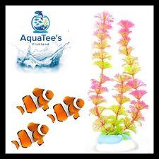 AQUARIUM FISH TANK PLANT DECORATION 19CM NANO POND AQUA ARTIFICIAL FRESH WATER